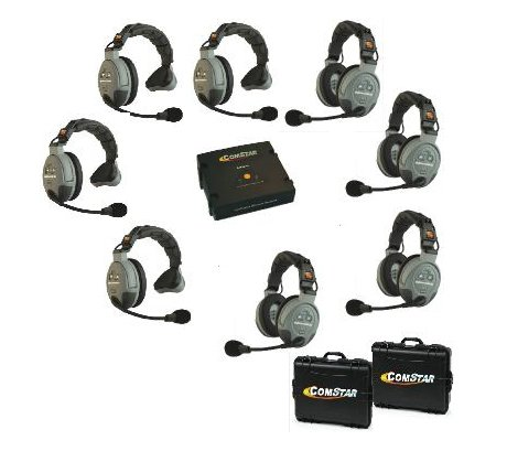 8-Person Wireless Intercom System