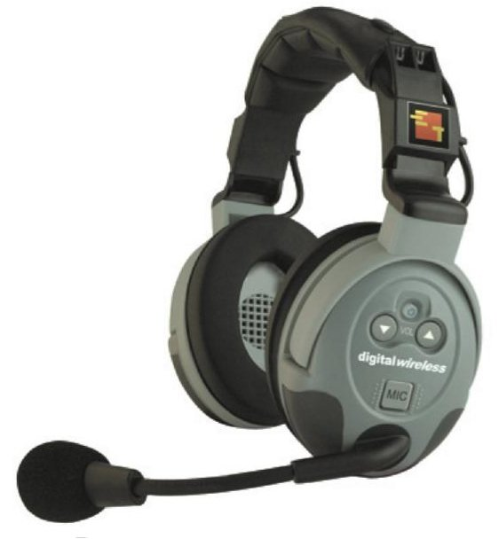 Double Ear Headset for Comstar Wireless Intercom System