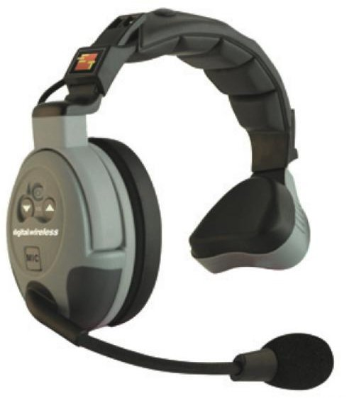 Single Ear Headset, Comstar Wireless System