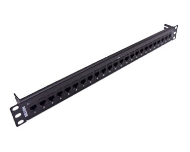Cat6+KCONN Patch Panel 24-Port