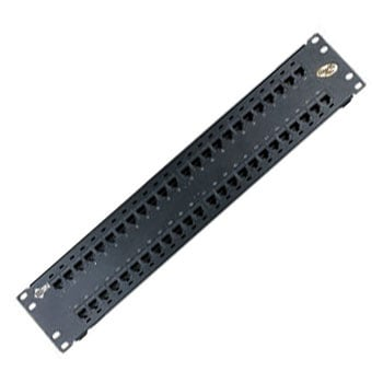 48-Port Cat6+KCONN Patch Panel