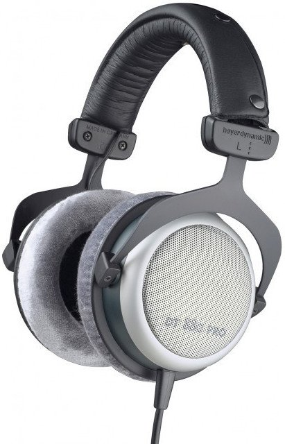 Semi-Open 250 Ohm Studio Headphones