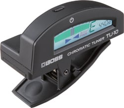 Clip-On Chromatic Tuner in Black