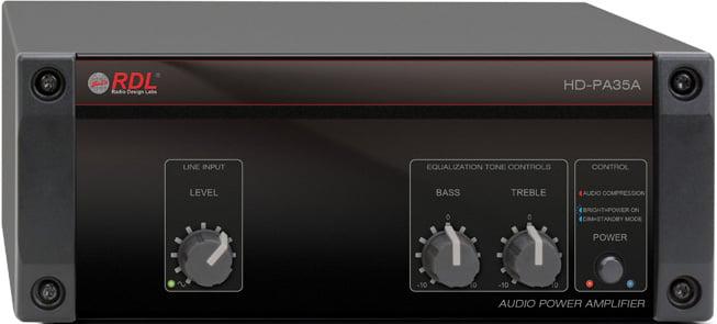 35 Watt, 4/8 Ohm Power Amplifier