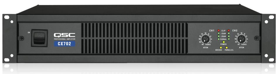 2-Channel Power Amplifier, 425 Watts @ 8 ohms