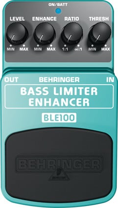 Bass Pedal, Limiter/Enhancer
