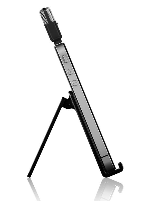 Ultra-Compact Microphone Compatible with iOS 3.1.3 and Up