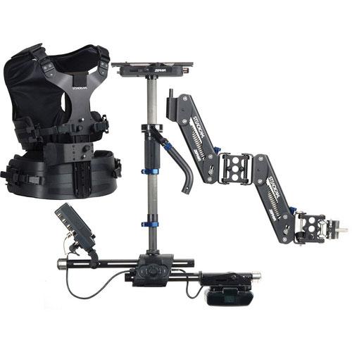 Zepher Hi-Def System Zephyr Hi-Def System: Sled/V-Mount/Arm/Vest/HD Monitor/Hard Case/Accessories/(2)PowerCube, VL-2 Charger