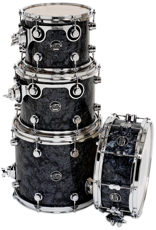 "Performance Series HVX Tom Pack 4 in FinishPly Finish with 5.5"" x 14"" Snare Drum: 8x10"", 9x12"", 12x14"""