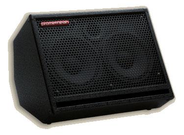 "Bass Cabinet, 2 x 10"" speakers, 250W, 8ohm"