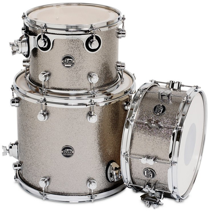 "Performance Series HVX Tom/Snare Pack 3 in FinishPly Finish: 9x12"", 14x16"" Toms, 6.5x14"" Snare Drum"