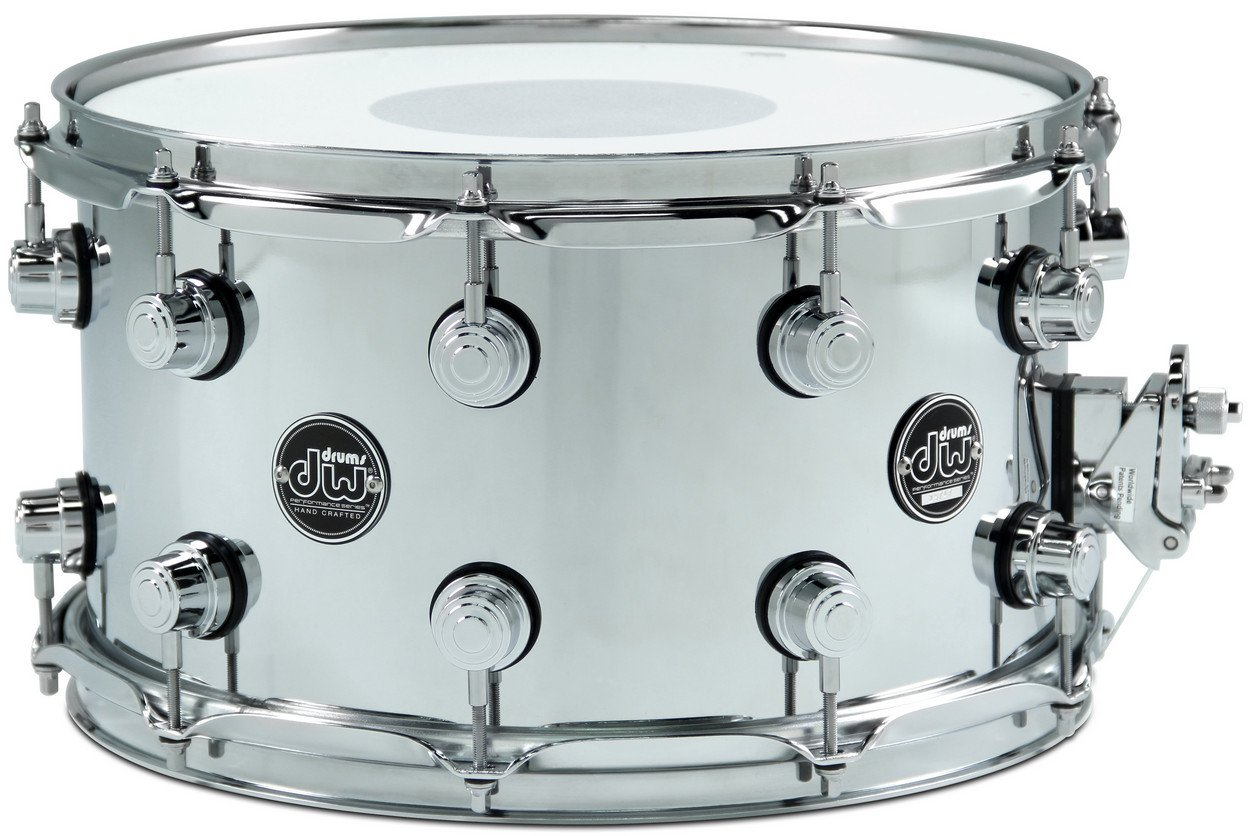 "8"" x 14"" Performance Series Steel Snare Drum in Chrome"