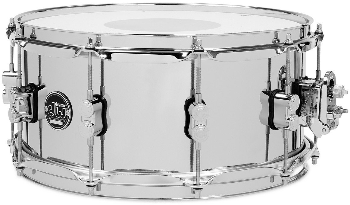"6.5"" x 14"" Performance Series Steel Snare Drum in Chrome"