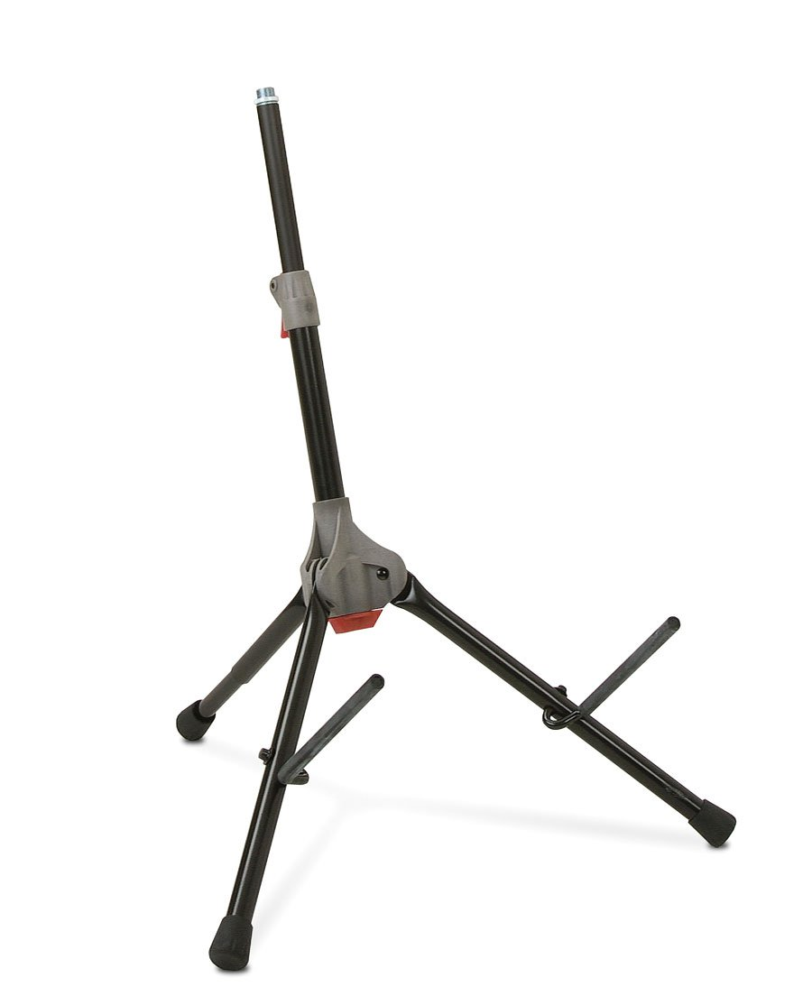 3-Position Tiltback Compact Amplifier Stand with Locking Legs