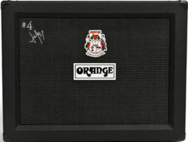 "2x12"" 120W #4 Jim Root Signature Closed-Back Guitar Speaker Cabinet with Orange Voice Of The World® Speakers in Black"