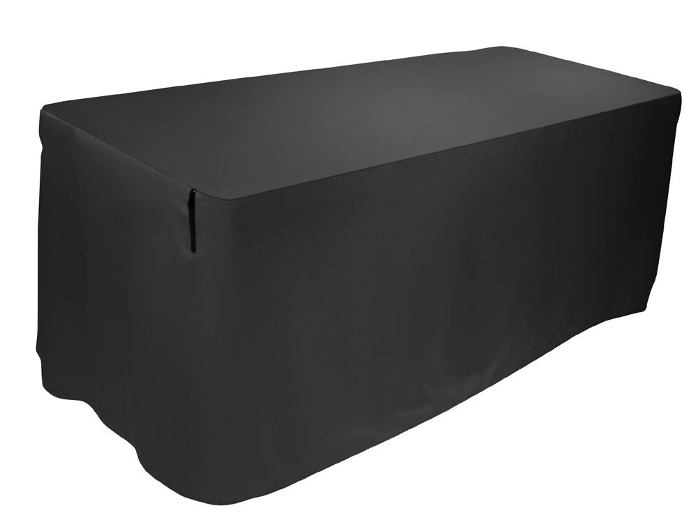 Table Cover, 4 Ft, Black 17413