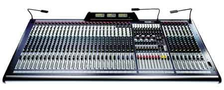 24 Channel, 8-Bus Professional Mixing Console (32 Channel version shown)
