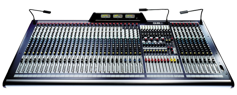 Soundcraft gb8 32 32 channel professional mixing console full compass - Professional mixing console ...