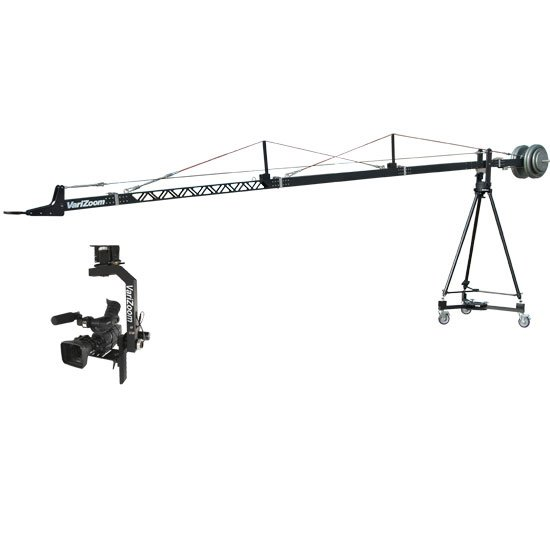 Film & Video Crane with Tripod & Dolly