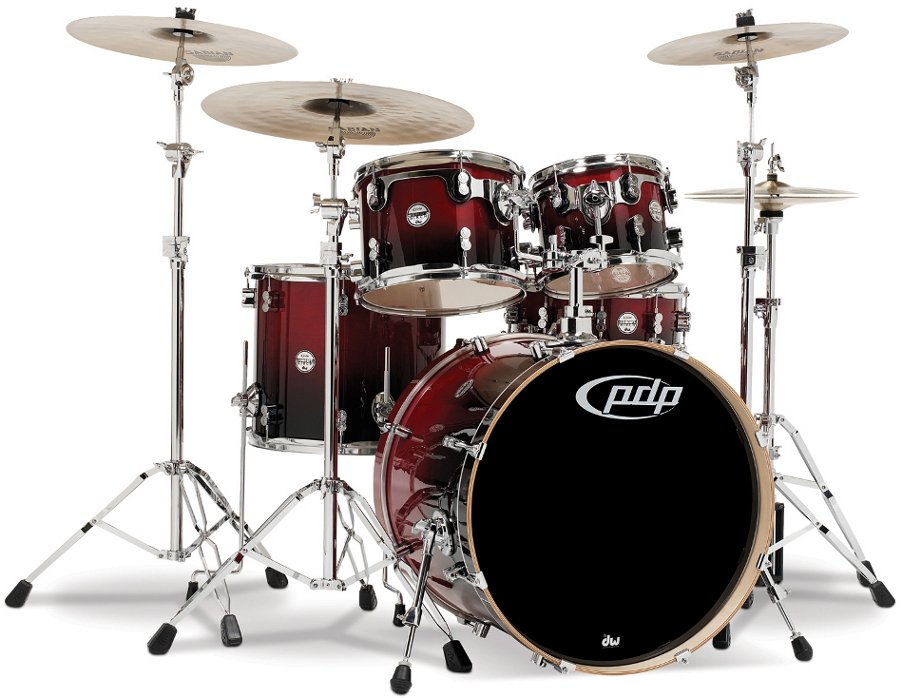 Pacific Drums Pdcb2215 Concept Series Birch 5 Piece Shell