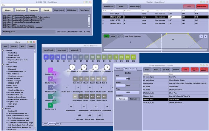 8 Universe Lighting Controller Software