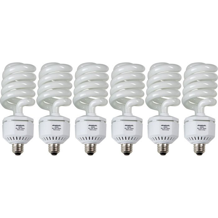 Spiderlite TD6, 6 pack 50-watt Daylight Fluorescent Lamps