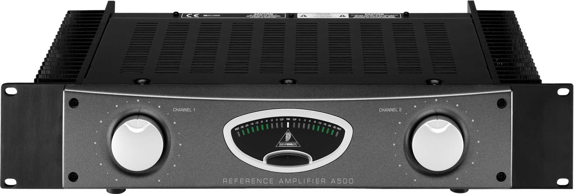 Reference Power Amplifier, Stereo, 300W per Channel @ 4 Ohms
