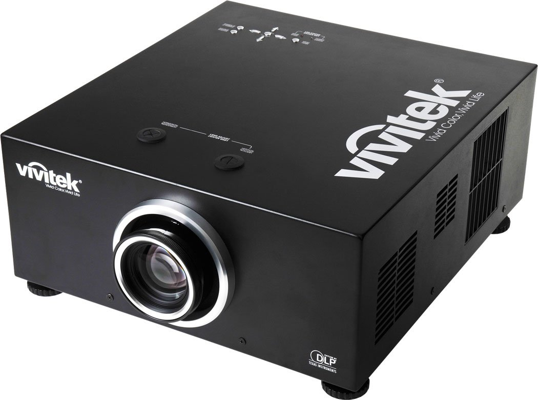 1080p Projector with Short Wide Fixed Lens, 6500 Lumens