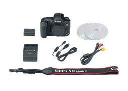 22.3 MP Digital SLR Camera with 24-105mm Lens and Accessories