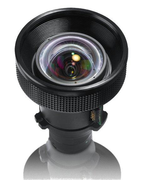 0.8:1 Short Throw Fixed Lens for SP8604, IN5312, IN5314 Projectors