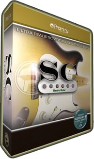 Virtual Stratocaster Electric Guitar (Prominy Part #: PVI001-SC)