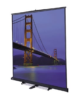 "Da-Lite 98042 105"" x 140"" Floor Model C® Matte White Screen 98042"