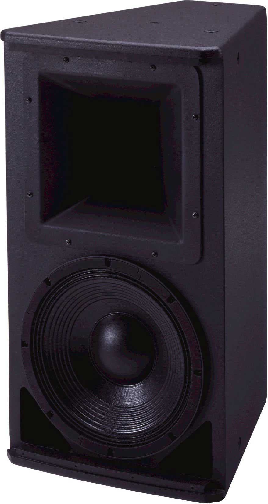 "12"" 2-way Speaker with 90x90 Rotatable Coverage, Black"