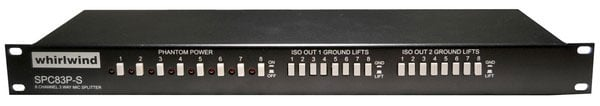 Mic Level Splitter, Contractor Unit