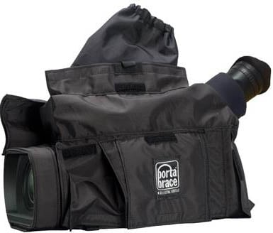 Black Rain Slicker for Panasonic AG-AC130, AG-AC160, AG-HPX250