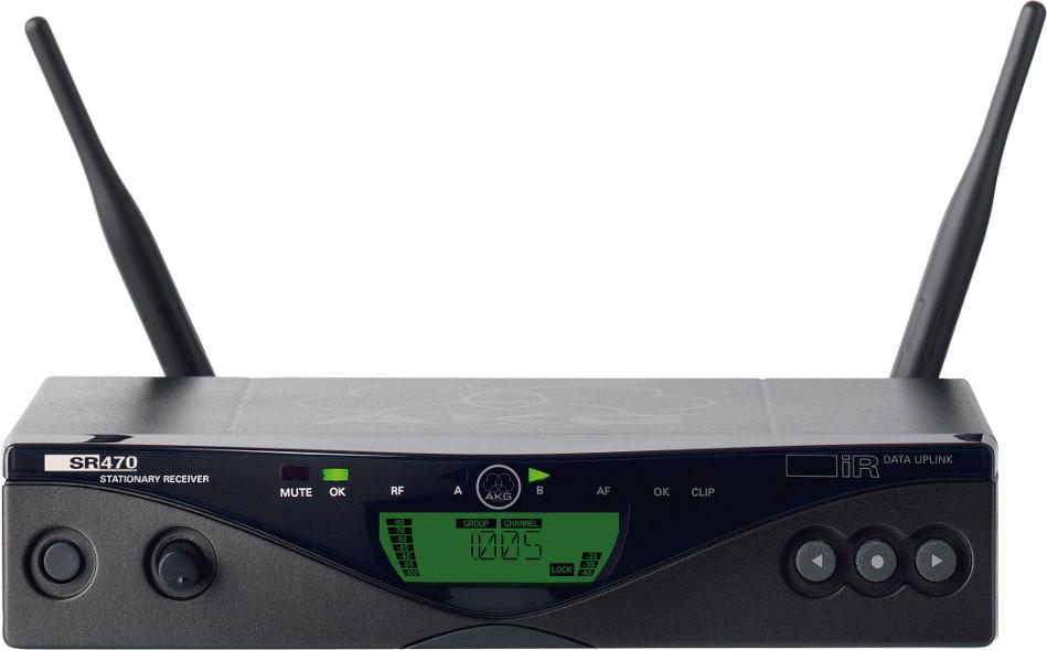 AKG SR470 Agile Diversity UHF Wireless Receiver SR470