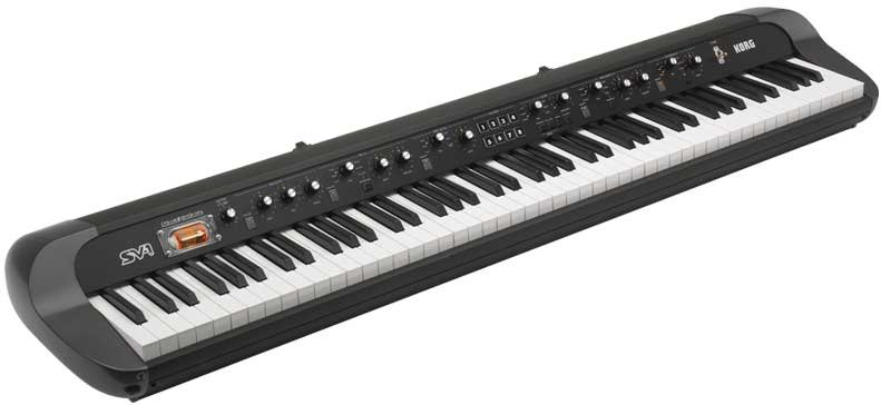 73-Key Black Stage Vintage Piano