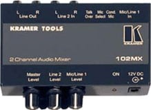 2-Channel Audio Mixer