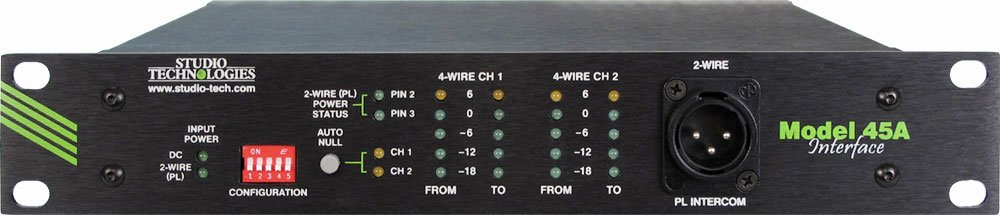 2 Wire to 4 Wire Interface