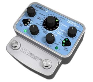 SoundBlox 2 Multiwave Bass Distortion Pedal
