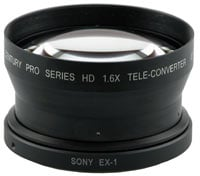 1.6X HD Tele-Convertor, for EX1/EX3