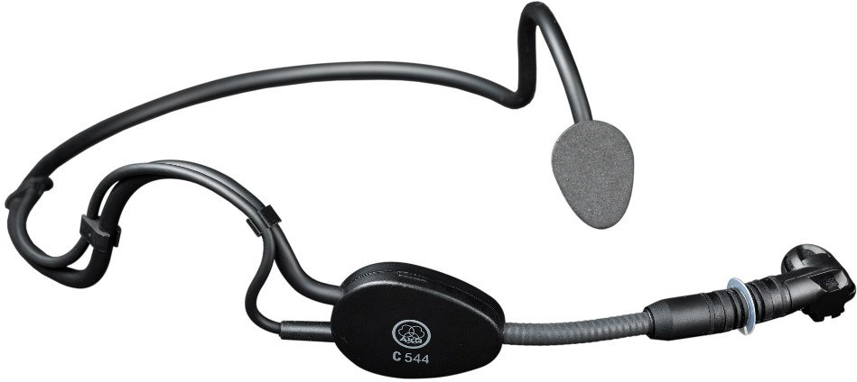 Headworn Condenser Sports Microphone for Wireless Systems