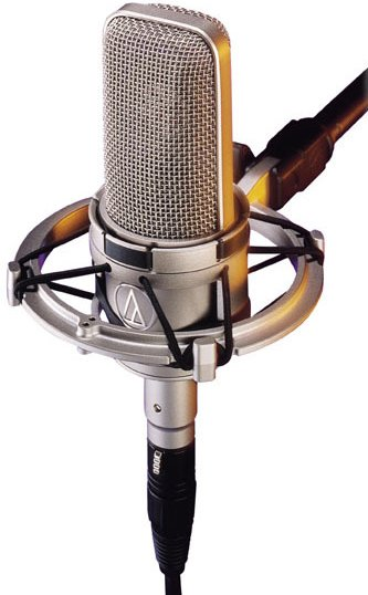 Large Dual-Diaphragm Condenser Microphone, Cardioid, Transformer-Coupled Output