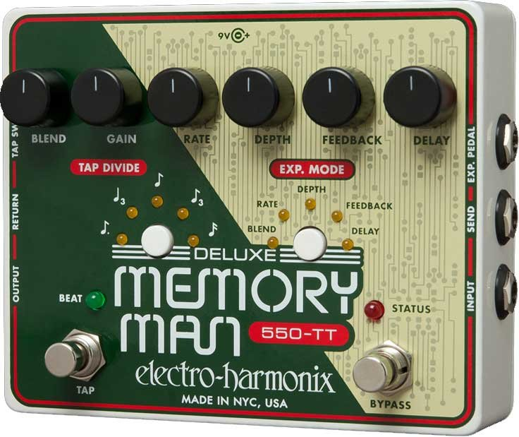 Deluxe Memory Man with TapTempo 550