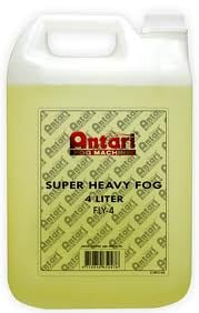 Fog Juice, 4L, Heavy Yellow