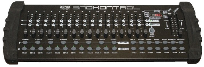 Blizzard Lighting SNOKONTROL DMX 512 Lighting Console SNOKONTROL