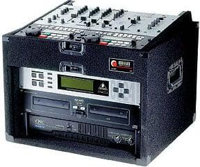 Carpeted Pro DJ Rack Case