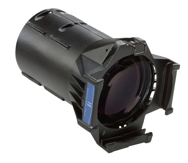50° LED Specific Black Source Four Lens Tube