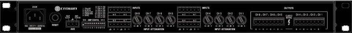 ComTech DriveCore 125W @ 8 Ohms 4-Channel Power Amp