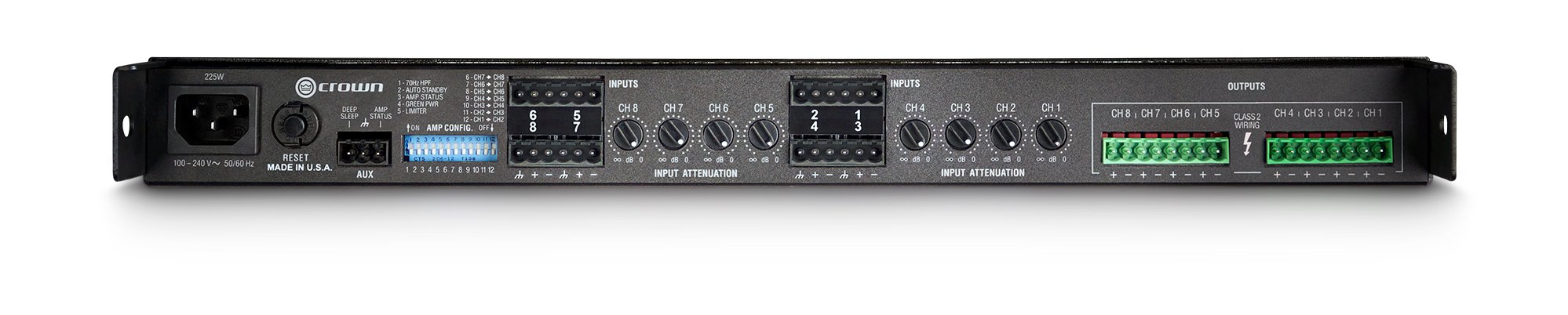 ComTech DriveCore 75W @ 8 Ohms 8-Channel Power Amp